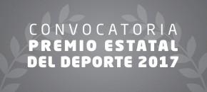 Convocatoria Premio Estatal del Deporte