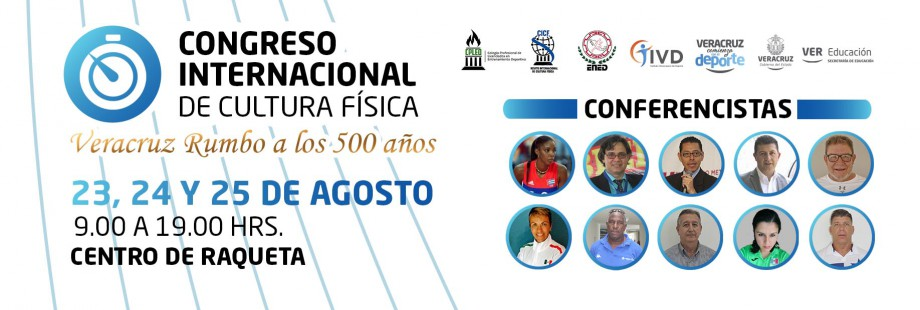 Slider Congreso Internacional de Cultura Física