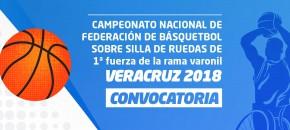 Convocatoria Nacional de Baloncesto