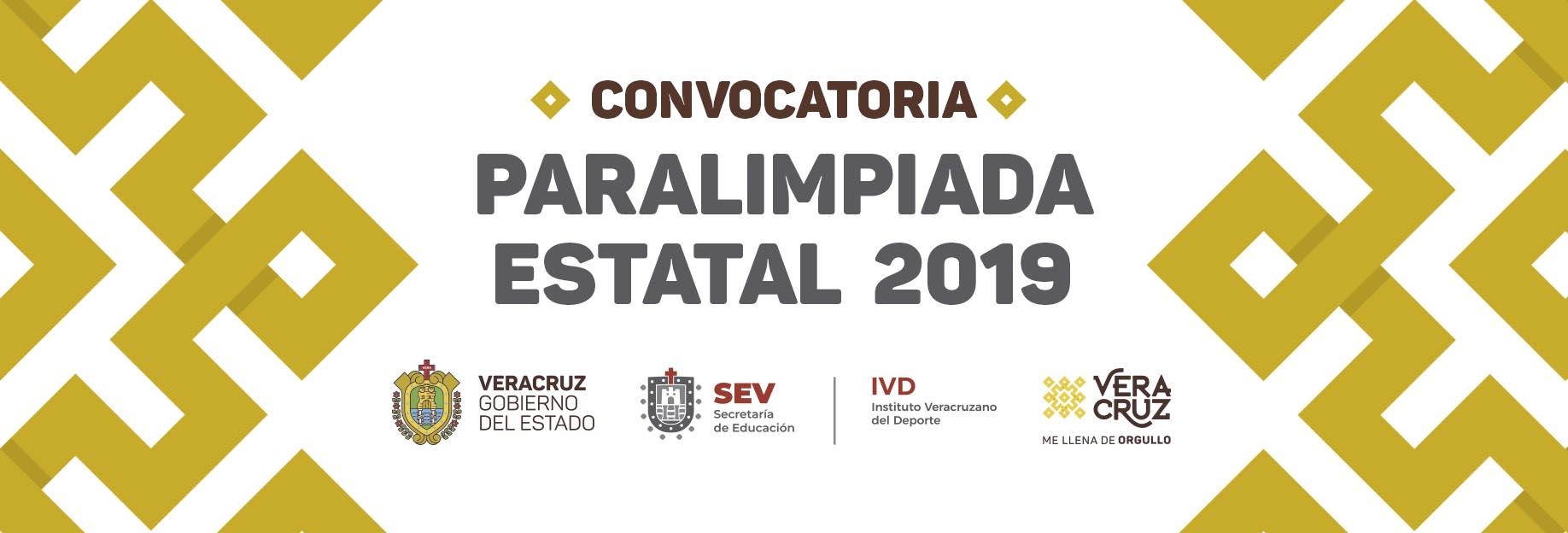 Slider Convocatoria Paralimpiada Estatal 2019