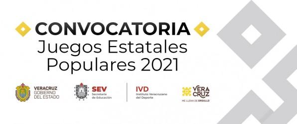 Slider Comunicado Convocatoria Juegos Estatales Populares 2021